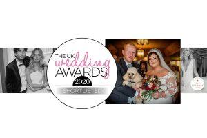 The UK Wedding Awards 2020 Shortlist Logo