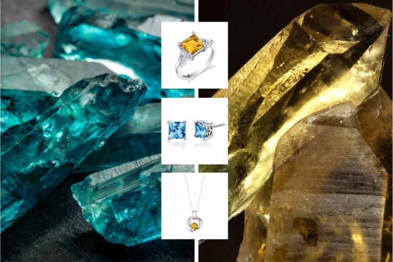 Topaz & Citrine Gemstones
