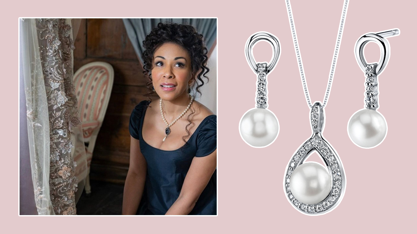 Get the Bridgerton Look - Pearls