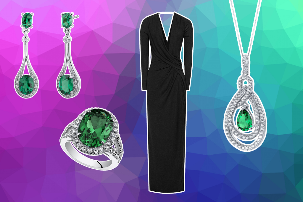 How To Wear Emerald With Evening Wear