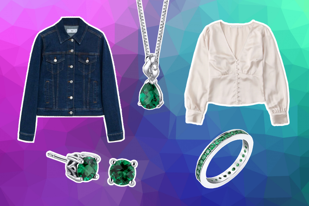 How To Wear Emerald With Day Wear