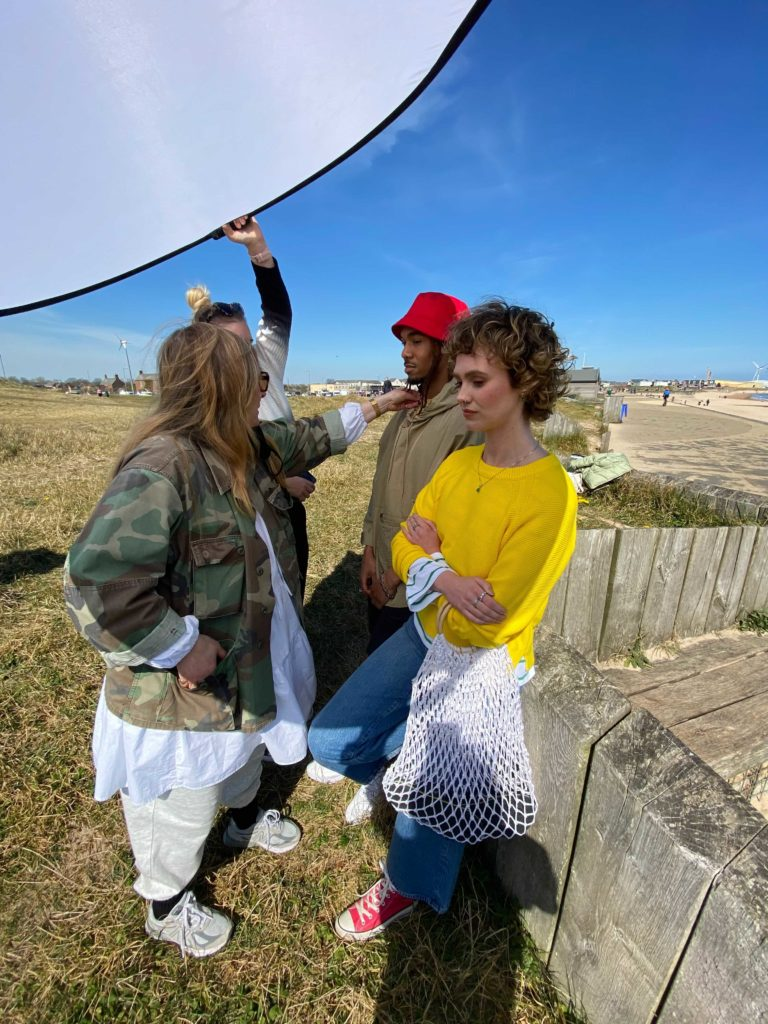 Colour Pop Campaign - Behind the Scenes